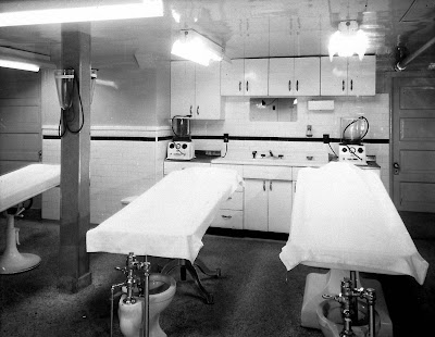 Dark dissolution the embalming room Embalming room design