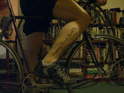 Tattoo Combines Science and Cycling