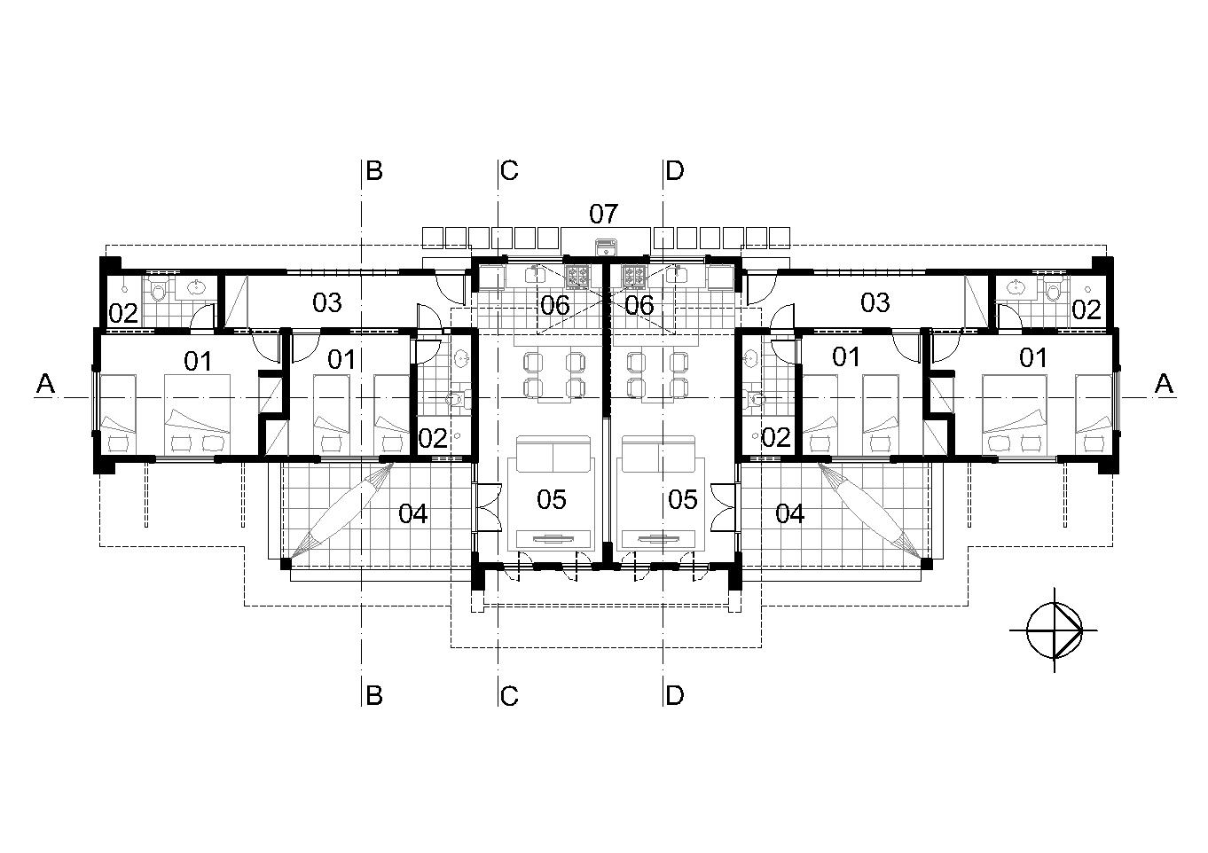 #121212 Casas Populares Galeria de Projetos Projetos de Casas 1362x962 px Projeto Cozinha Dwg Download_4167 Imagens