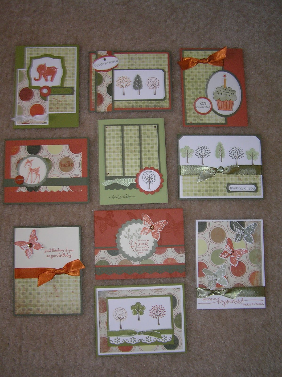 Paper Pansies And Pachyderms One Sheet Wonder Card Sets