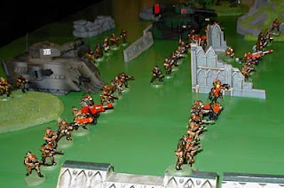 The Imperial Guard Defense Line
