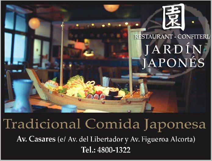 Que loca cocina jard n japon s restaurante for Resto jardin japones