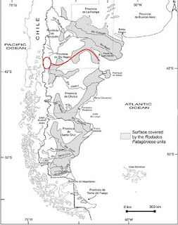Patagonian Gravel distribution