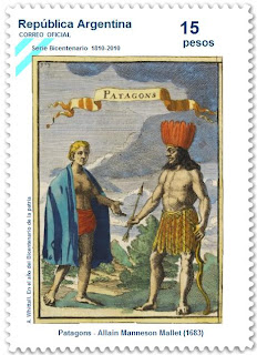 Patagon, a stamp