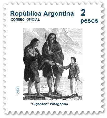 Patagon - Stamp