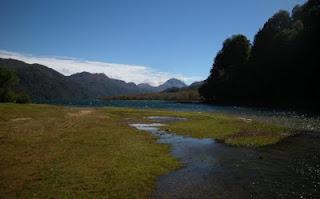 field by lake Villarino
