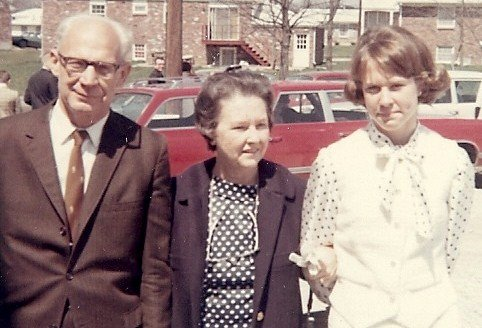 Sunday after church, 1968