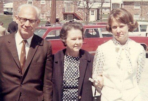 Sunday after church, 1968