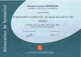 Formation CEGOS Laurent Permezel