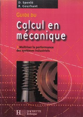 calcul en mécanique et guide du dessinateur