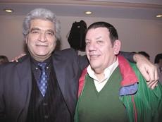 Con Jorge Asís