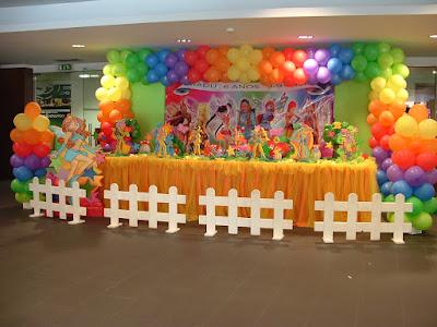fotos decoração com balão