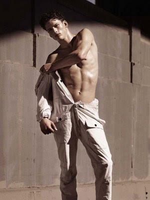 International Male Models Simon Nessman, Reid Prebenda and Alan Carey