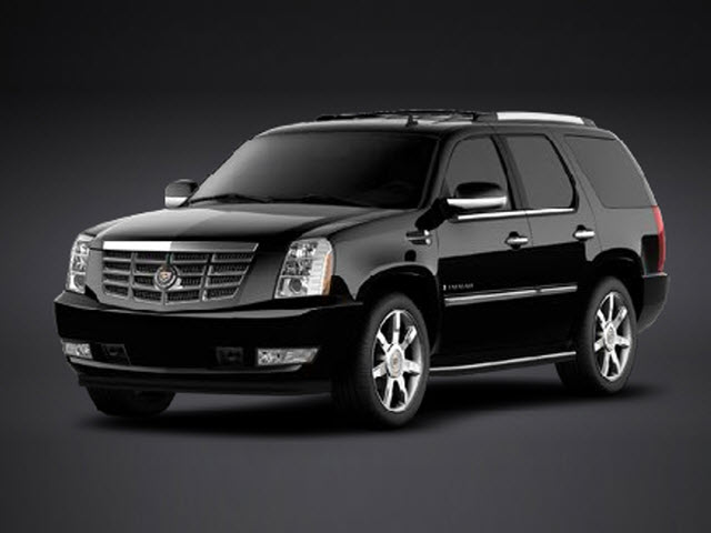 The Cadillac Escalade Luxury adds chromed 22-inch cast-aluminum wheels,