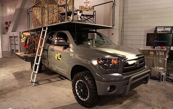Car Zone Toyota Tundra Sportsman Custom Sema Auto Show