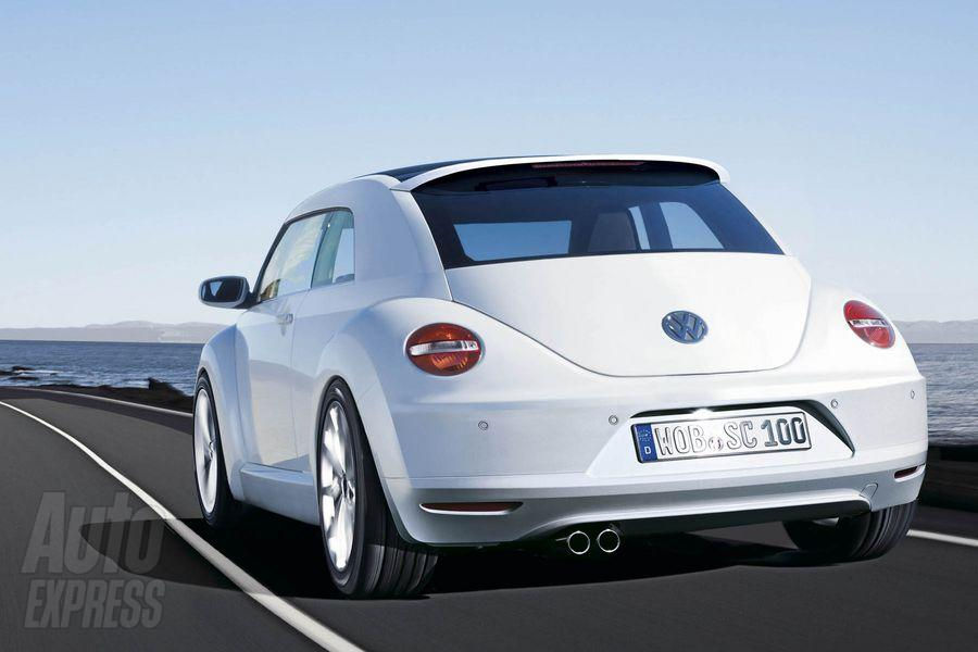 Vw New Beetle 2011. The Volkswagen New Beetle was