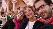 Con mis hijos Paula y Matías