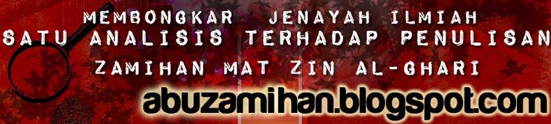 Satu Analisa Terhadap Penulisan Zamihan Mat Zin al-Ghari