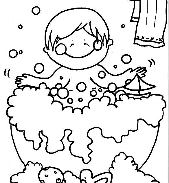 Dibujos para imprimir y colorear dibujo de un ni o for Imagenes de un estanque para colorear