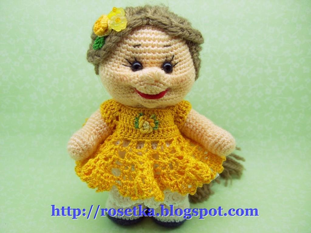 Вязание кукол схемы - Master class.