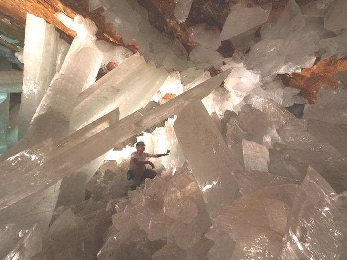 gambar2 Keajaiban Dunia Giant Crystal Cave