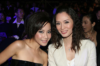 Sexy Fiona Xie with Jacelyn Tay