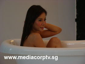 sexy fiona xie bathing - 11