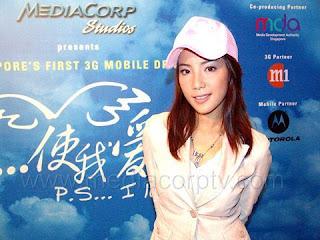 fiona xie in pink cap