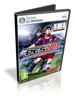 Download PC Pro Evolution Soccer 2011 + Crack + Serial + Tradução 2010 Completo