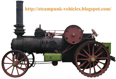 3D Modeling Reference http://steampunk-vehicles.blogspot.com/2009/06/steam-powered-tractor-garret-side-view.html