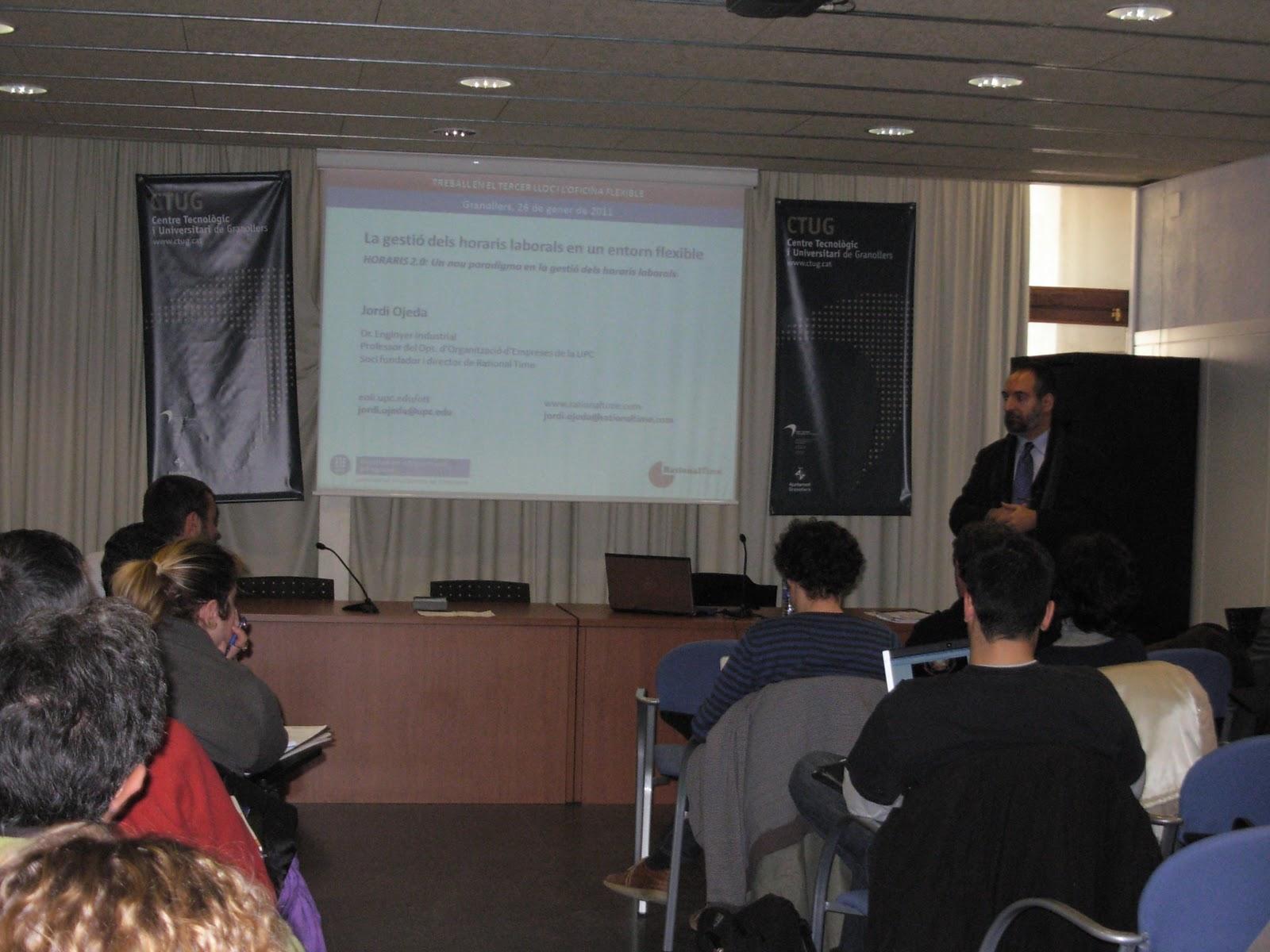 Cct conocimiento colaboraci n tiempo enero 2011 for Oficina correos granollers