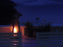 Kveld på hytta