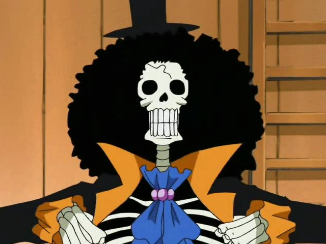 One Piece. Brook