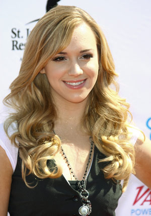 Prom Curly Hairstyles Sarah Michelle Gellar's long blonde wavy half up half