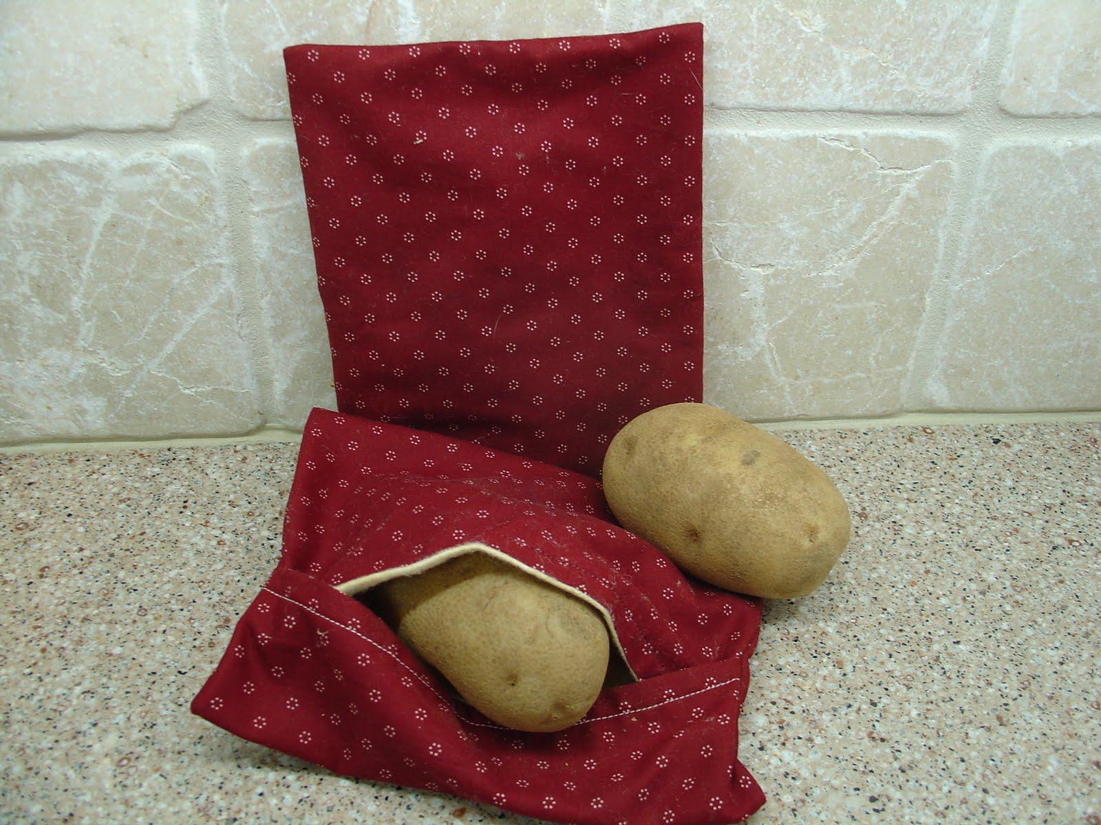 Mary S Craft Room Baked Potato Bag