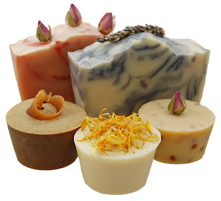 natural goats milk soap by The Natural Soapworks