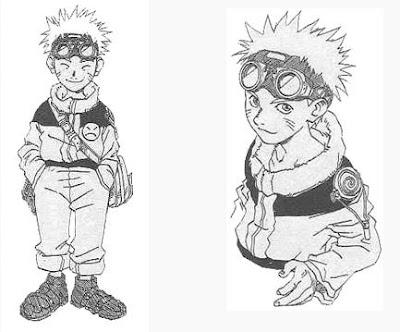 manga Naruto sketch