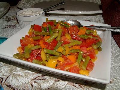 Bruschetta aux pointes d'asperges et au poivron orange Bruschetta+aux+asperges