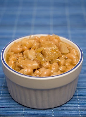 Fèves au lard à la mijoteuse Beans