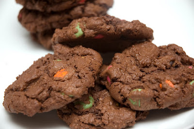 Biscuits sablés de Noël en vitrail de bonbons