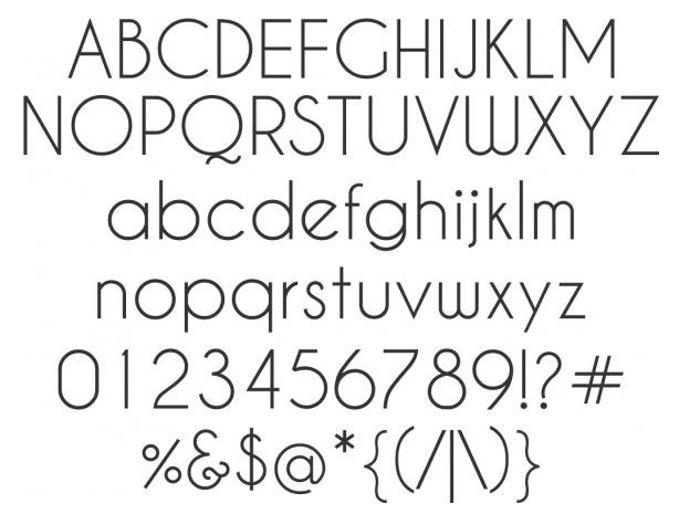 Free web font similar to century gothic
