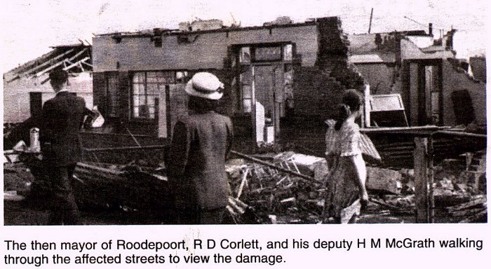 ... Africa: Major tornado hit parts of Roodepoort on 26 November 1948