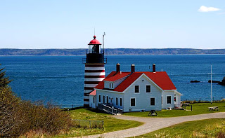 West Quoddy Head and Quoddy Narrows, Maine