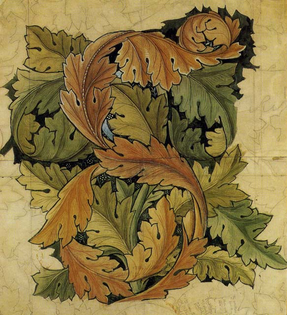 william morris work. Illustration: William Morris