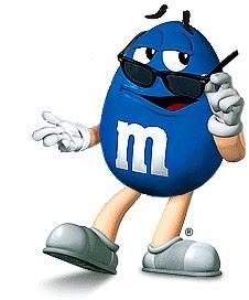 Blue M M