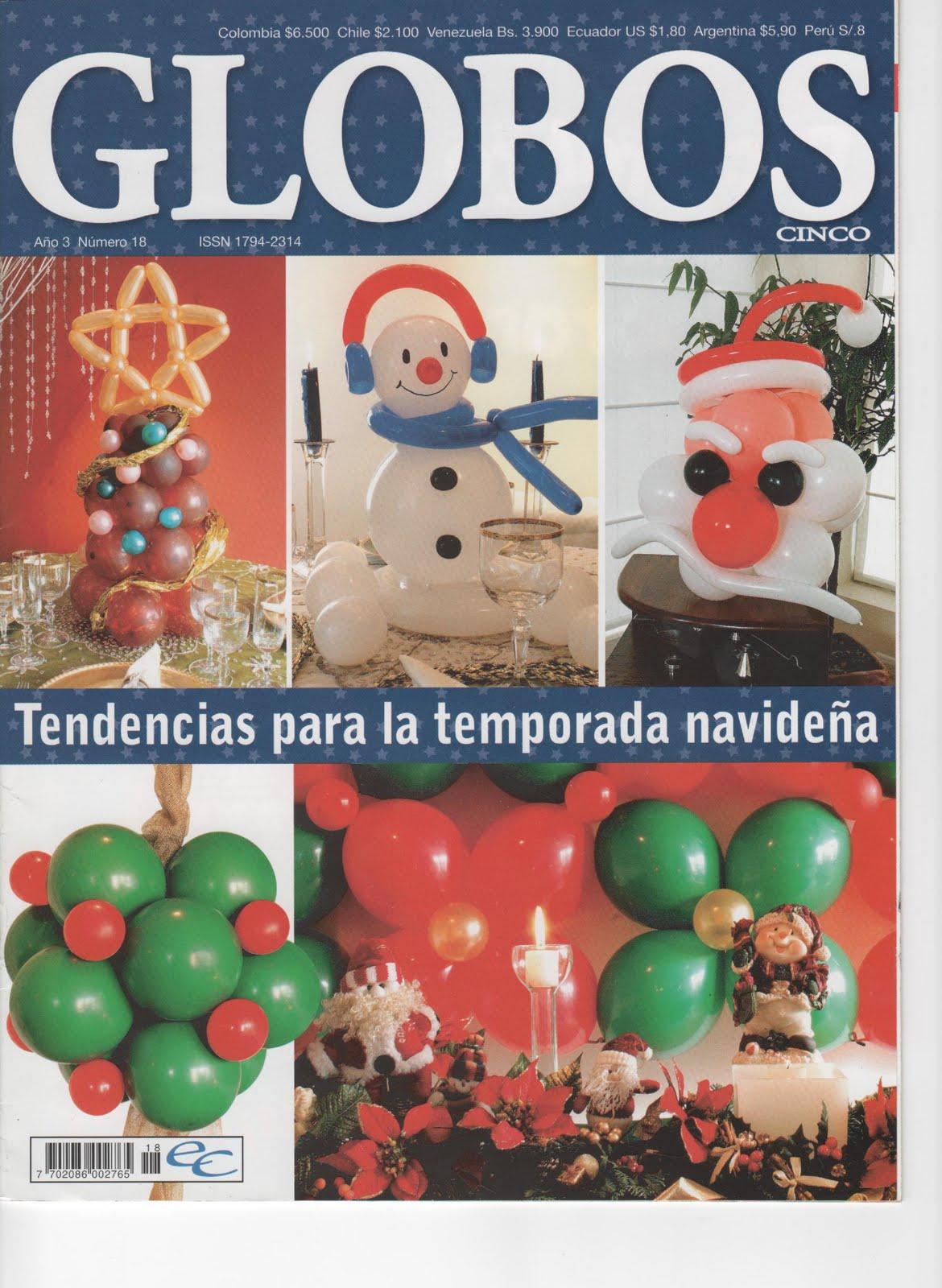 Descarga lo que quieras y mas decora con globos para navidad - Decora con globos ...