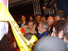 Ze Lennon e o Presidente  Lula