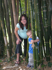 Playing Peek a Boo at the Botanical Gardens