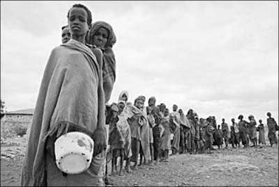 La force de l'adolescence de la faim