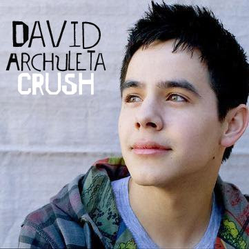 David Archuleta: Crush.